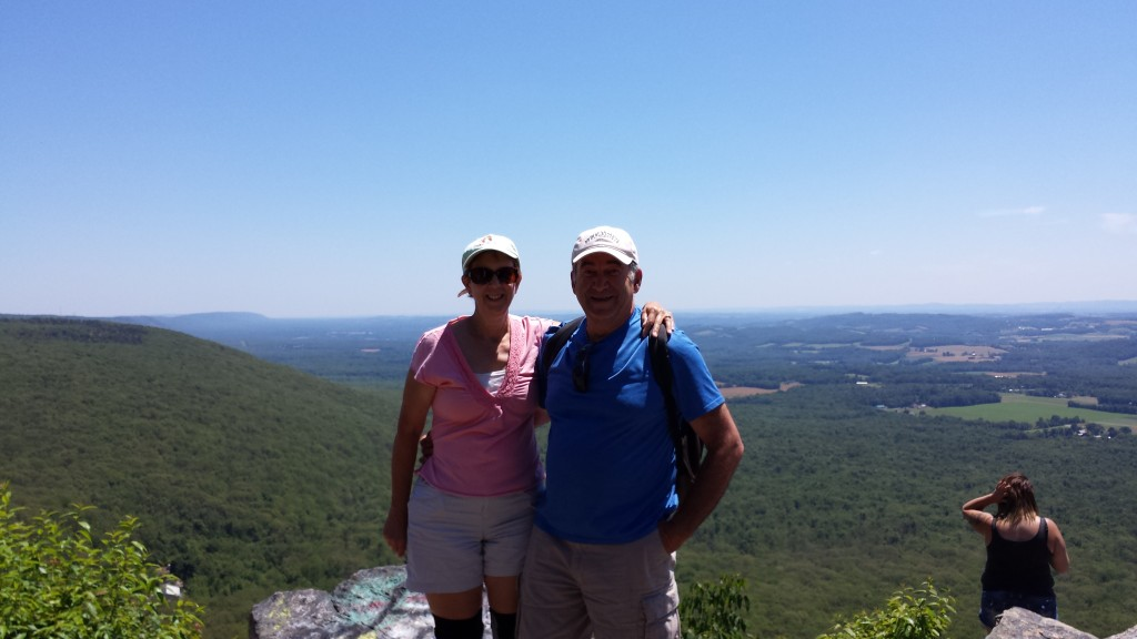 Packy and Tapey at Bake Oven Knob
